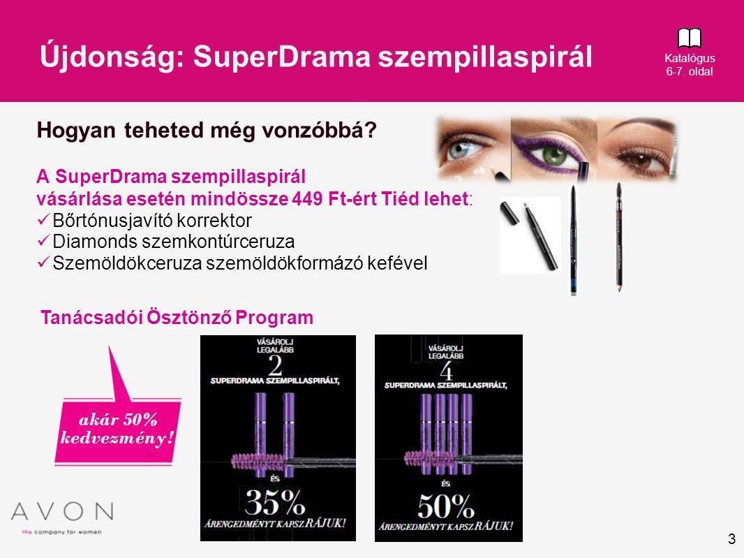 Újdonság: SuperDrama szempillaspirál