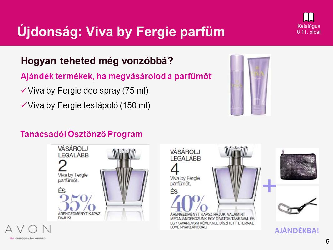 Újdonság: Viva by Fergie parfüm