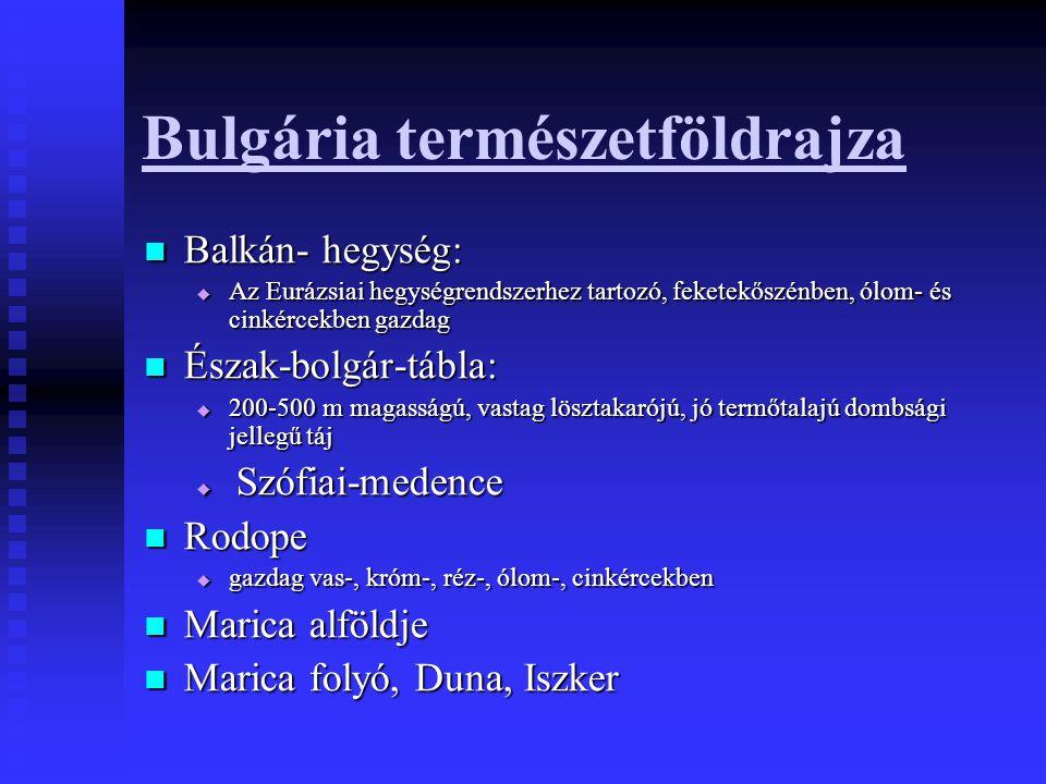 Bulgária természetföldrajza