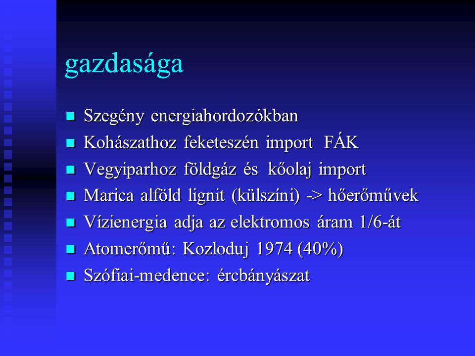 gazdasága Szegény energiahordozókban Kohászathoz feketeszén import FÁK