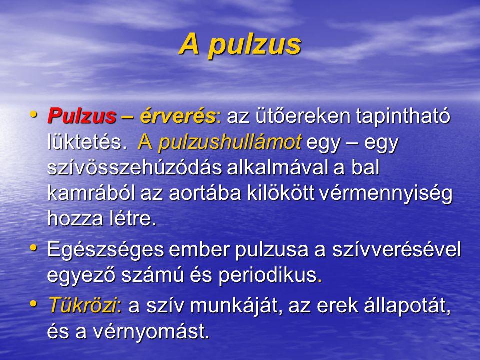 A pulzus