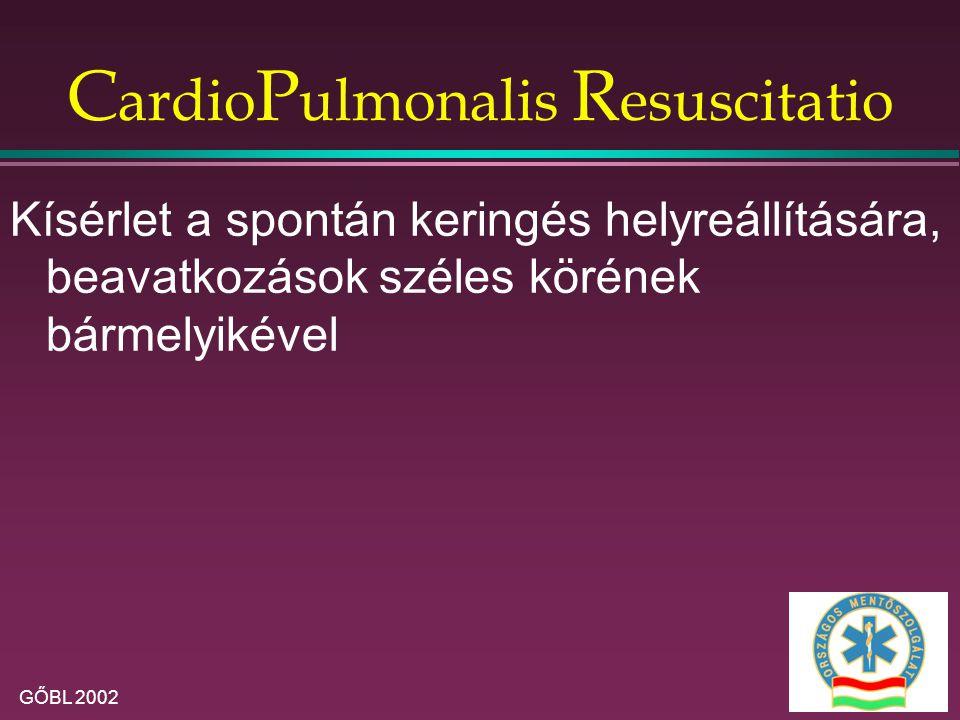 CardioPulmonalis Resuscitatio