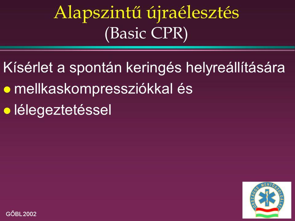 Alapszintű újraélesztés (Basic CPR)