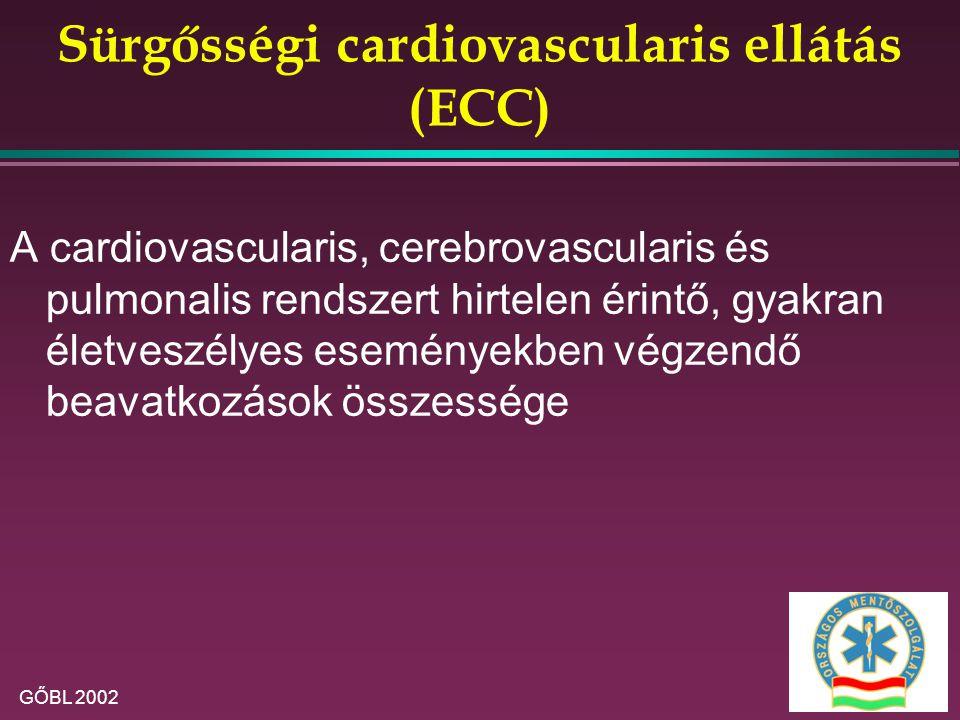 Sürgősségi cardiovascularis ellátás (ECC)