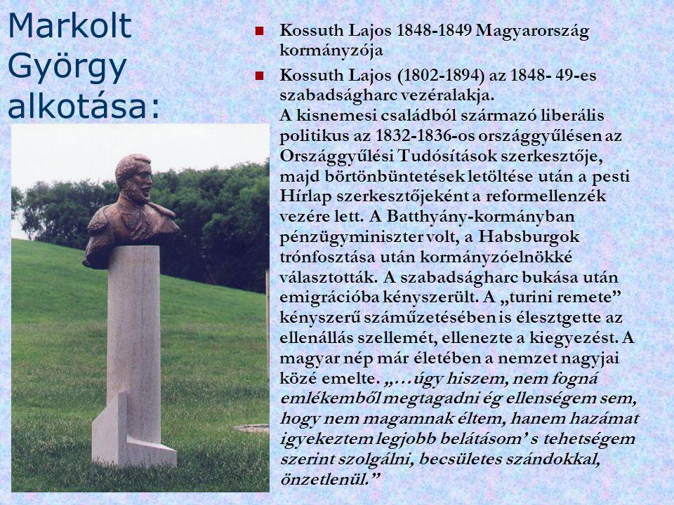 Markolt György alkotása: