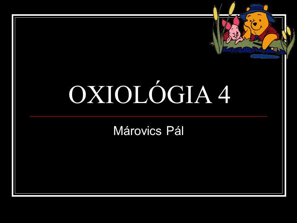 OXIOLÓGIA 4 Márovics Pál