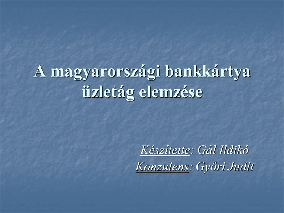 A magyarországi bankkártya üzletág elemzése