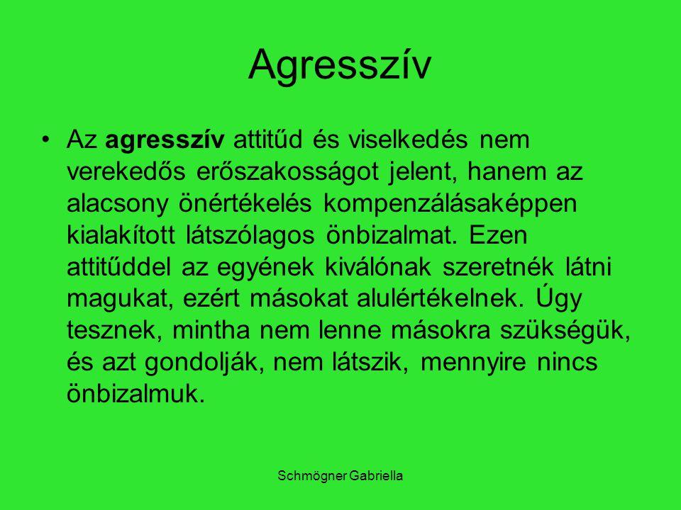 Agresszív