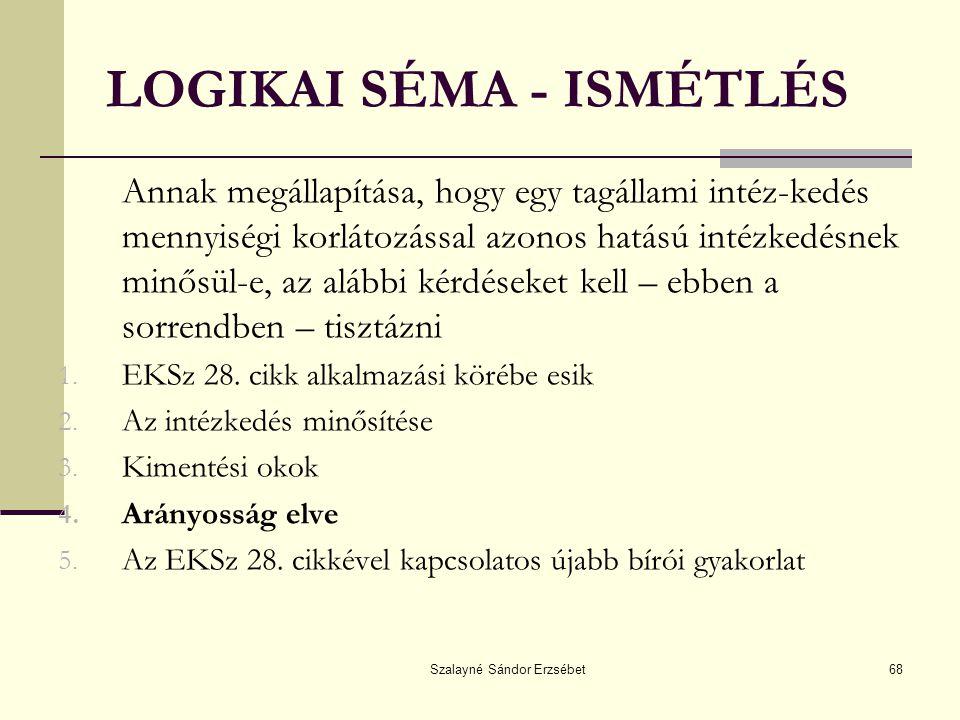 LOGIKAI SÉMA - ISMÉTLÉS