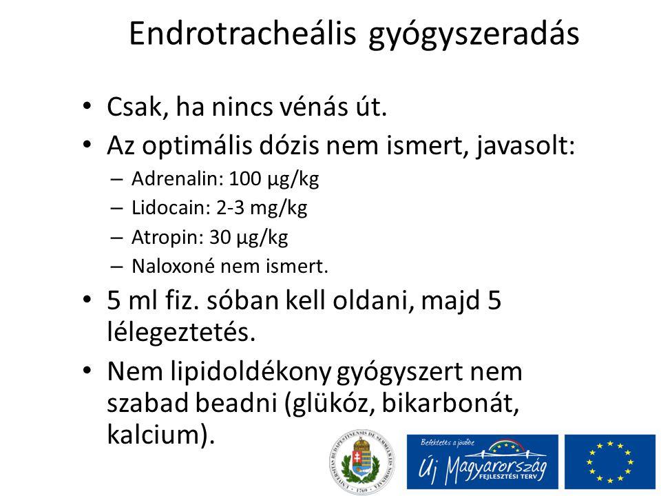 Endrotracheális gyógyszeradás