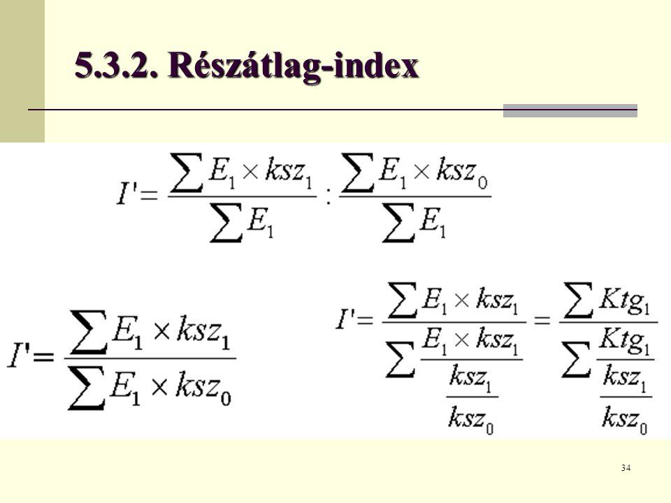 5.3.2. Részátlag-index