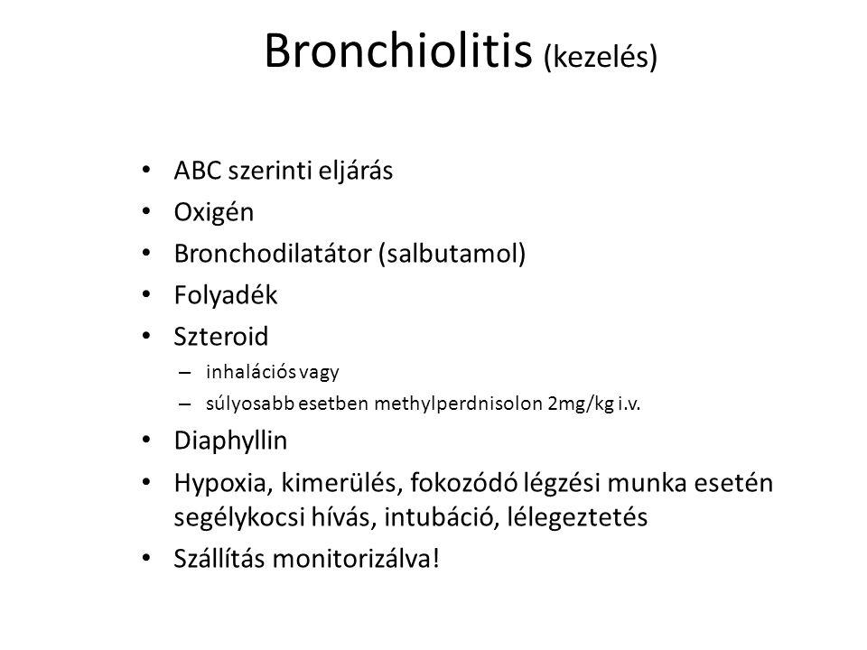 Bronchiolitis (kezelés)