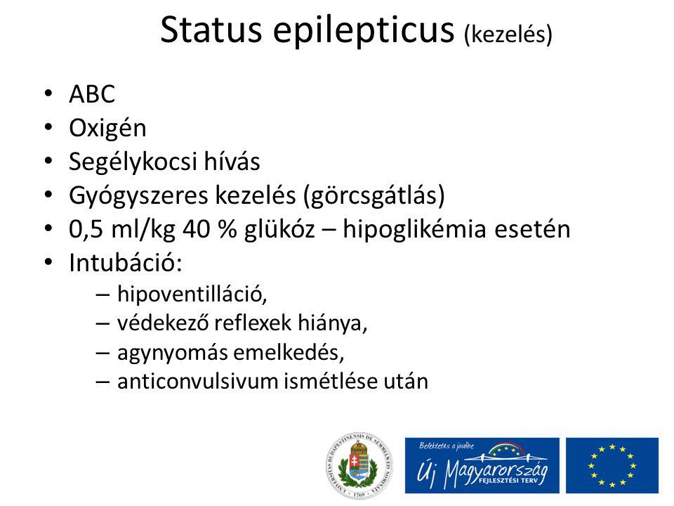 Status epilepticus (kezelés)