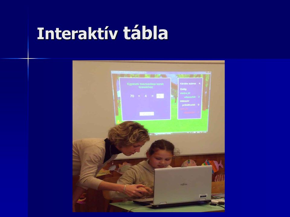 Interaktív tábla