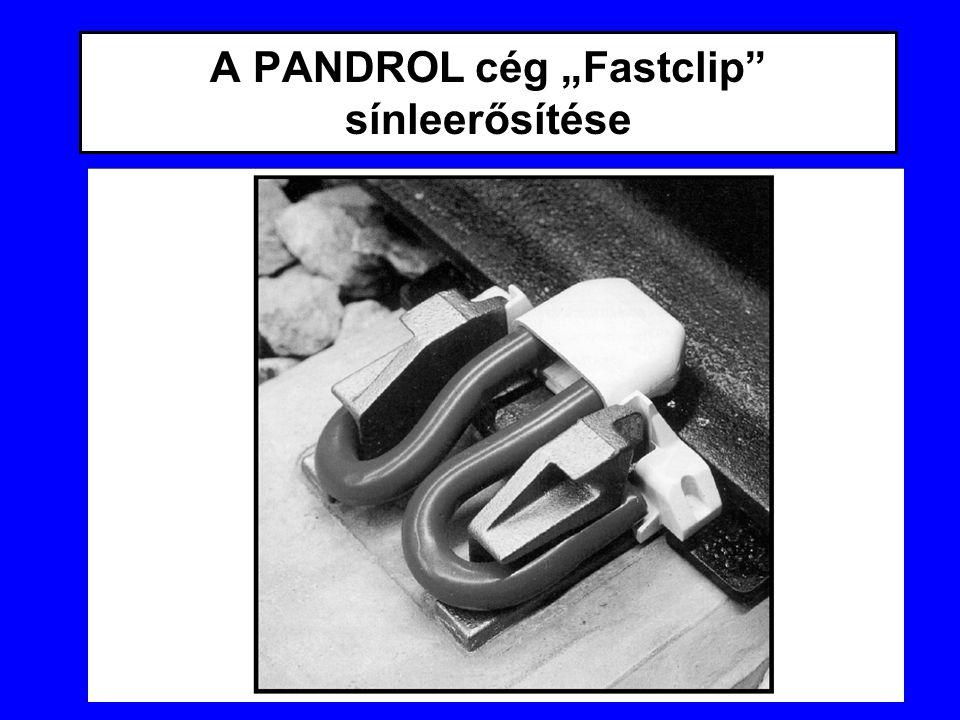 """A PANDROL cég """"Fastclip sínleerősítése"""