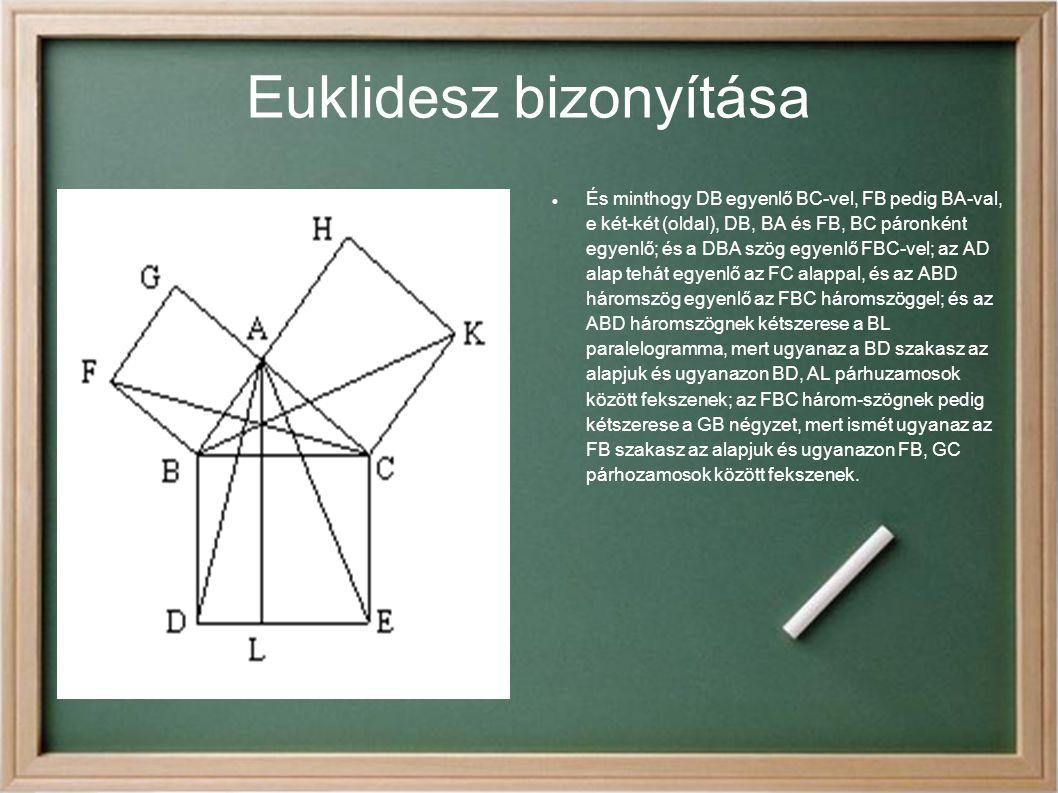Euklidesz bizonyítása