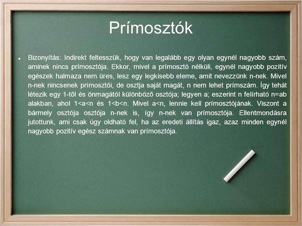Prímosztók