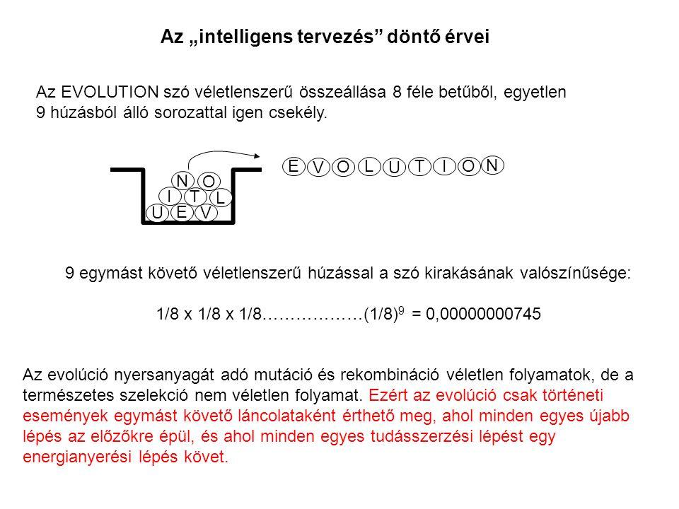 """Az """"intelligens tervezés döntő érvei"""