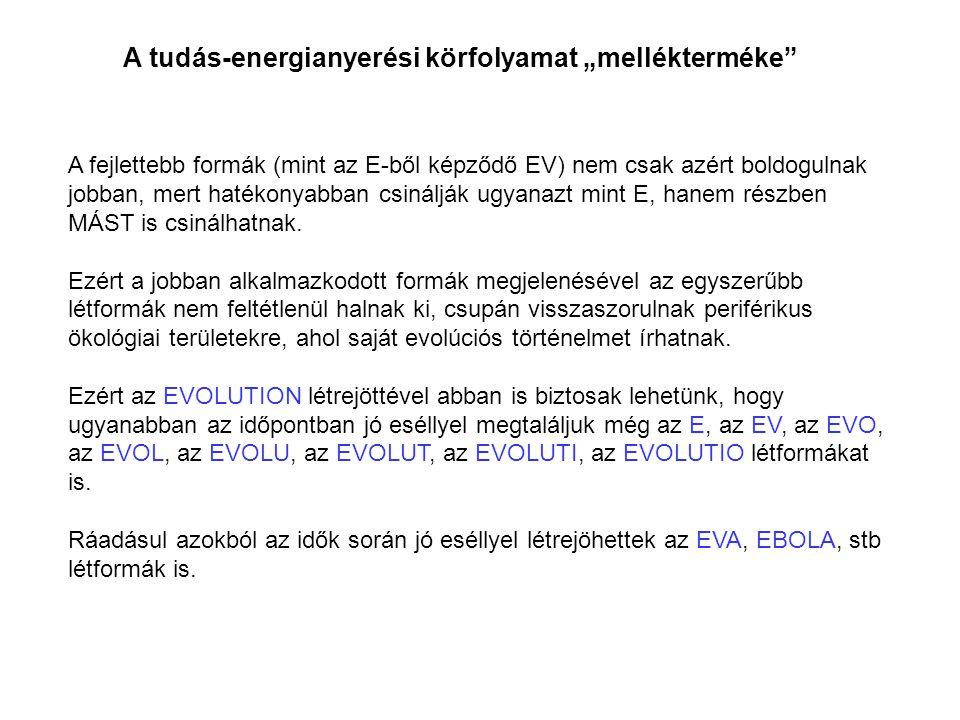 """A tudás-energianyerési körfolyamat """"mellékterméke"""