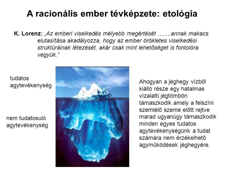 A racionális ember tévképzete: etológia
