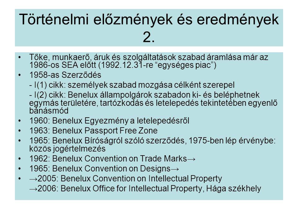 Történelmi előzmények és eredmények 2.