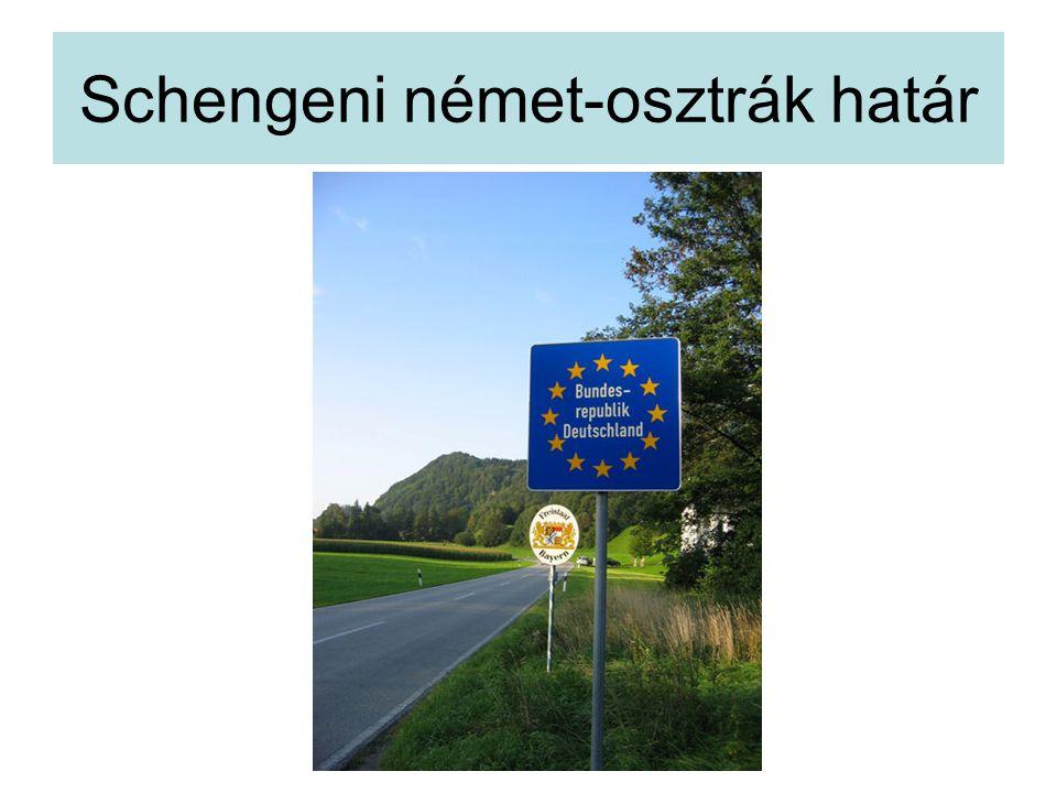 Schengeni német-osztrák határ