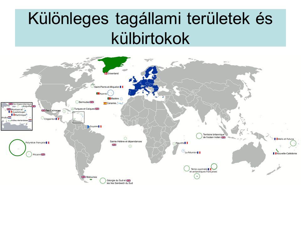Különleges tagállami területek és külbirtokok