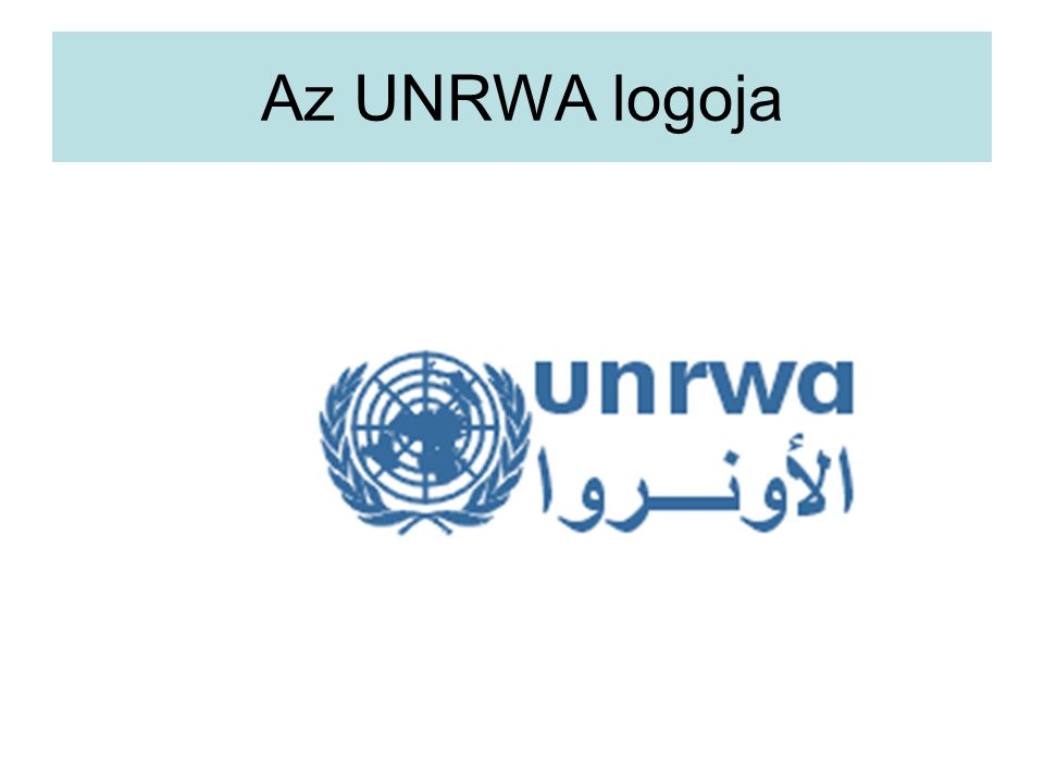 Az UNRWA logoja