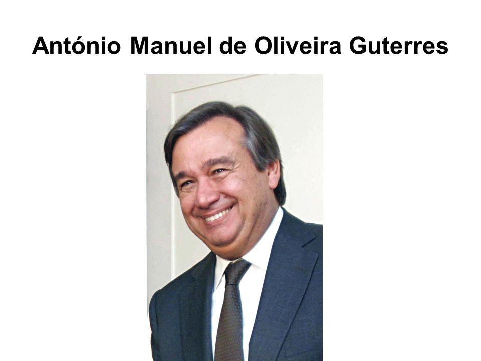 António Manuel de Oliveira Guterres