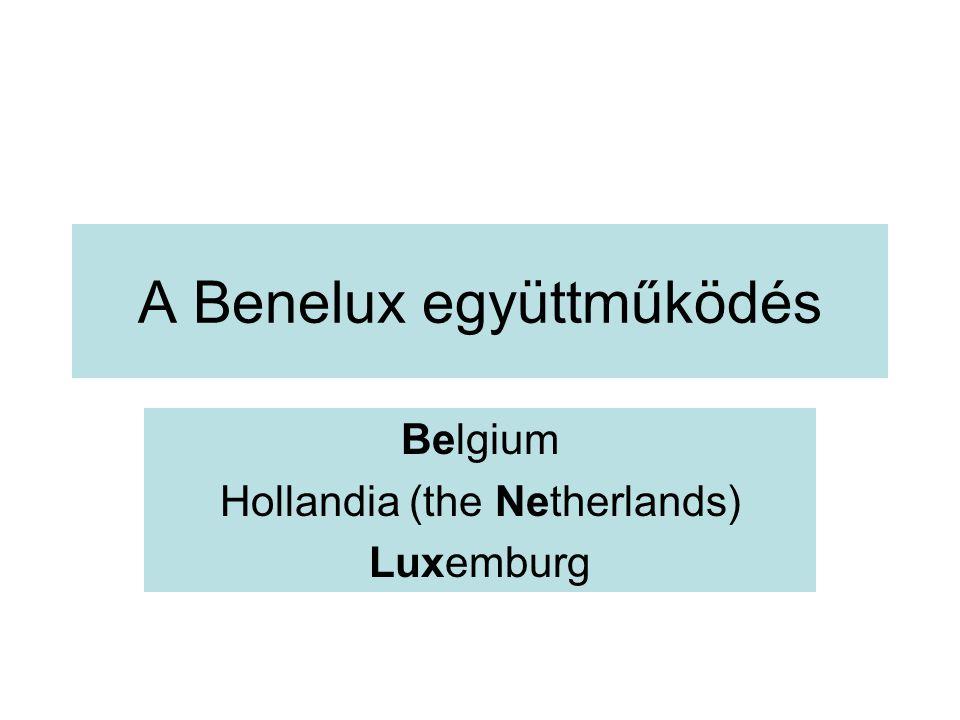 A Benelux együttműködés