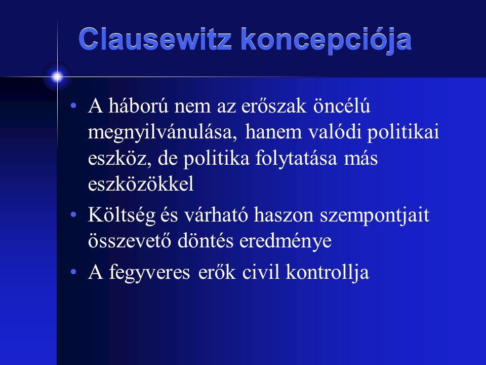 Clausewitz koncepciója