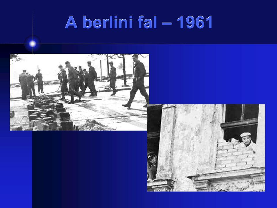 A berlini fal – 1961