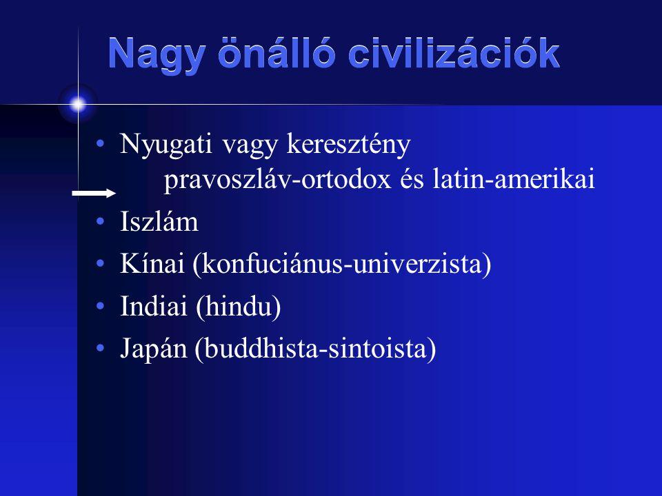 Nagy önálló civilizációk