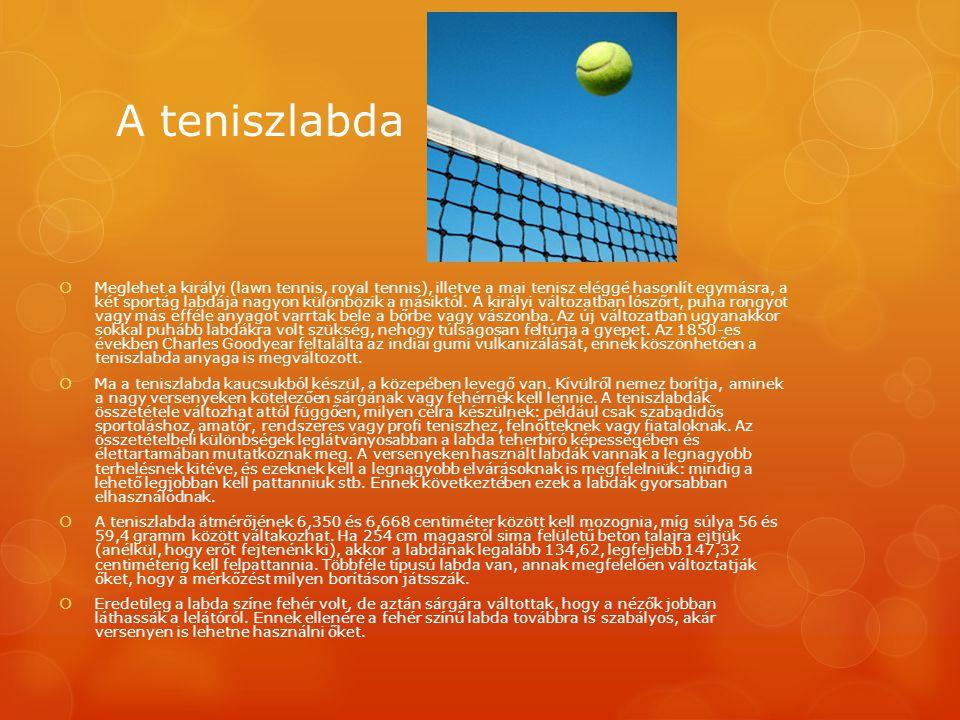 A teniszlabda
