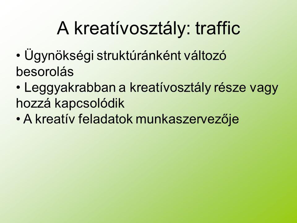 A kreatívosztály: traffic