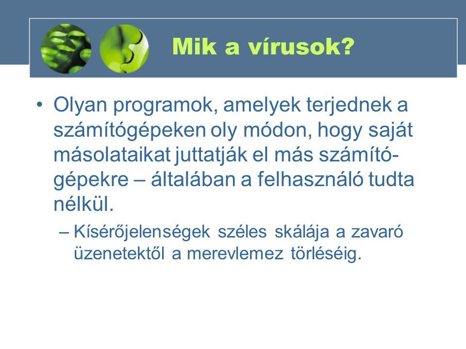 Mik a vírusok