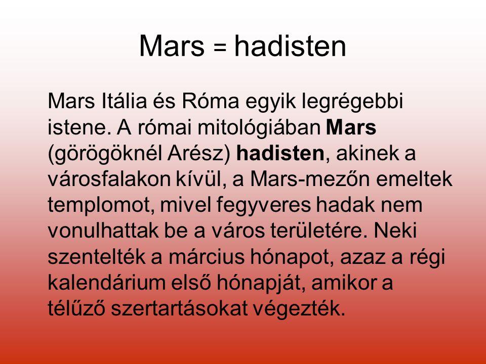 Mars = hadisten