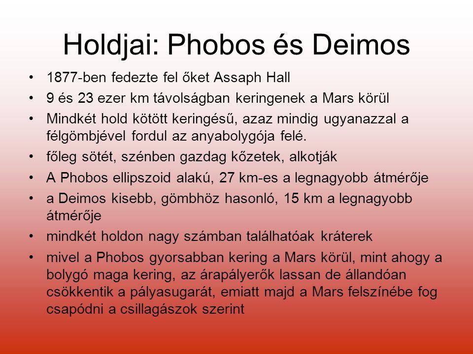 Holdjai: Phobos és Deimos