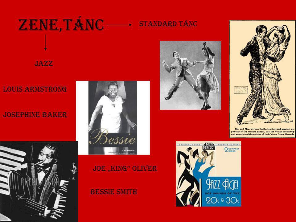 Zene,Tánc Standard tánc Jazz Louis Armstrong Josephine Baker