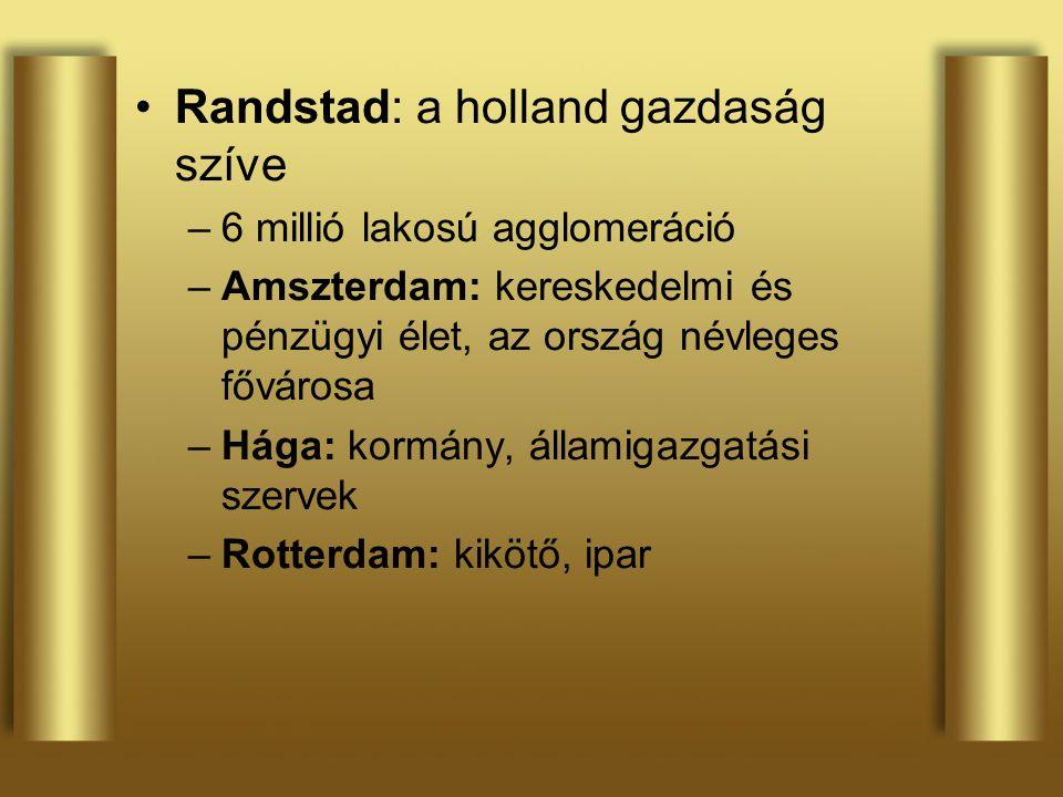 Randstad: a holland gazdaság szíve