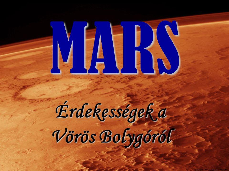 Érdekességek a Vörös Bolygóról