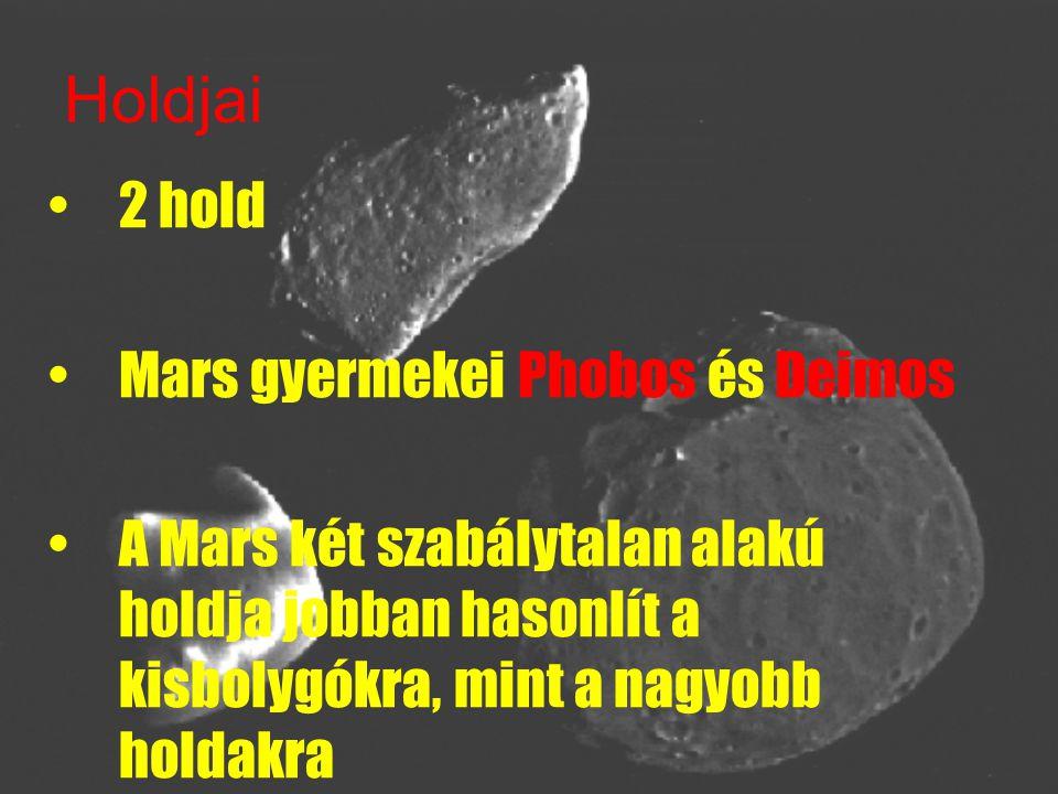 Holdjai 2 hold Mars gyermekei Phobos és Deimos