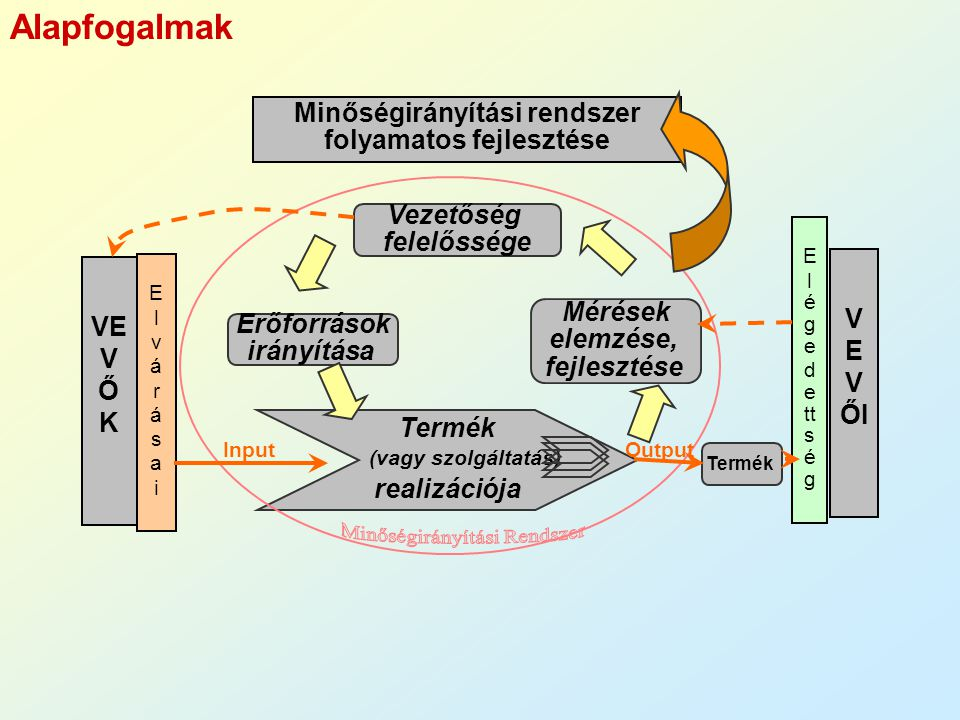 Minőségirányítási rendszer folyamatos fejlesztése