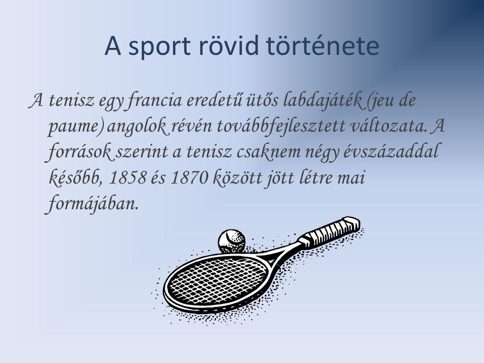 A sport rövid története