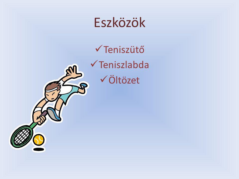 Eszközök Teniszütő Teniszlabda Öltözet