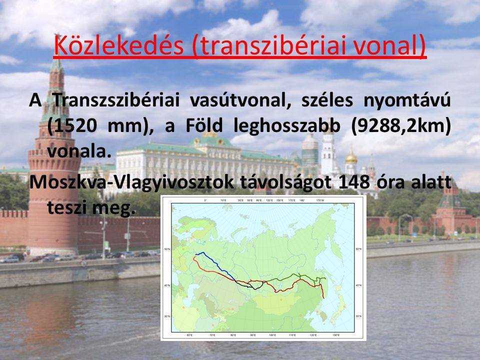 Közlekedés (transzibériai vonal)