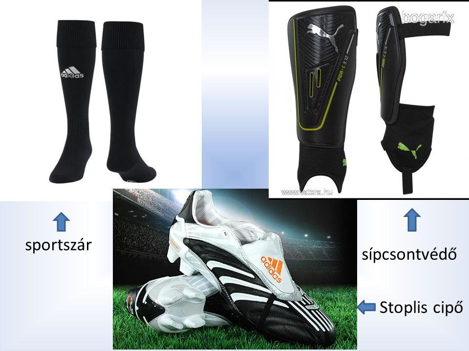sportszár sípcsontvédő Stoplis cipő