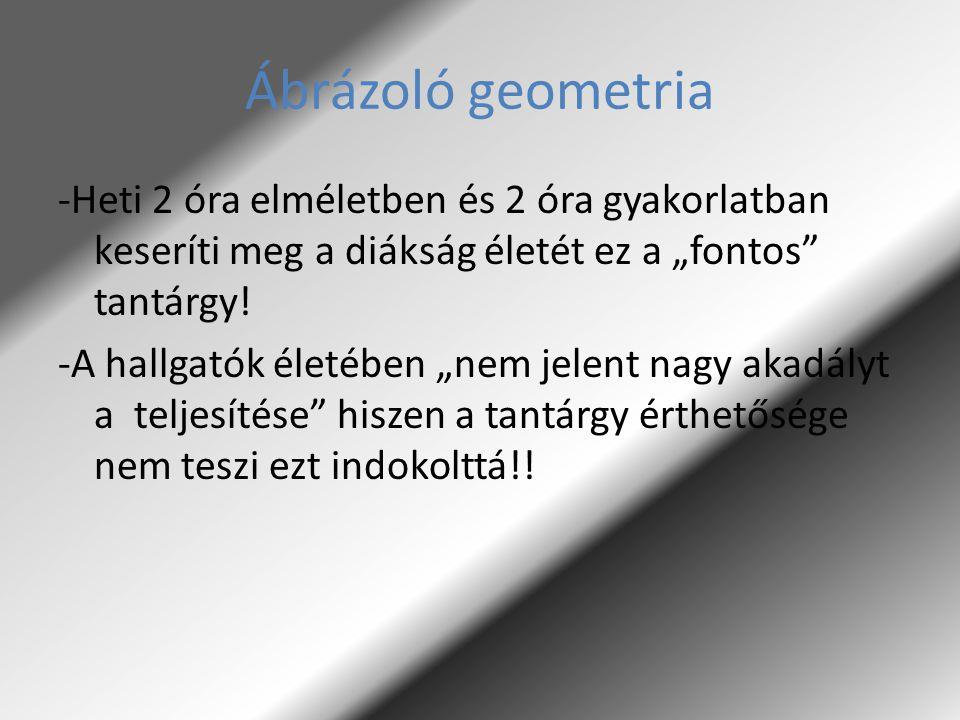Ábrázoló geometria