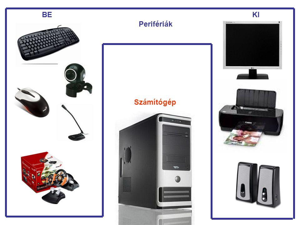 BE KI Perifériák Számítógép