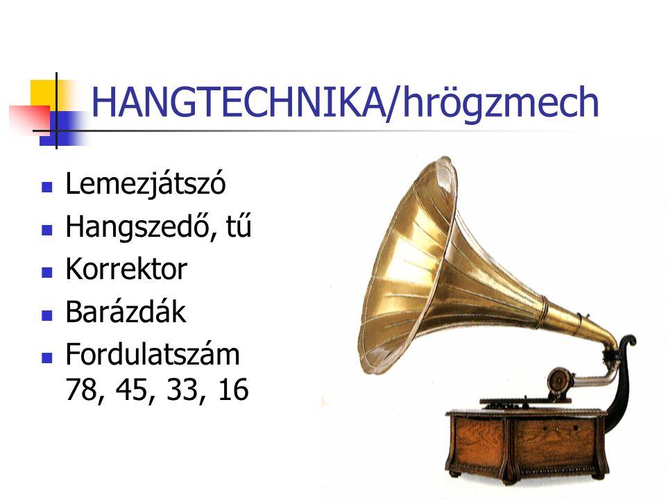 HANGTECHNIKA/hrögzmech